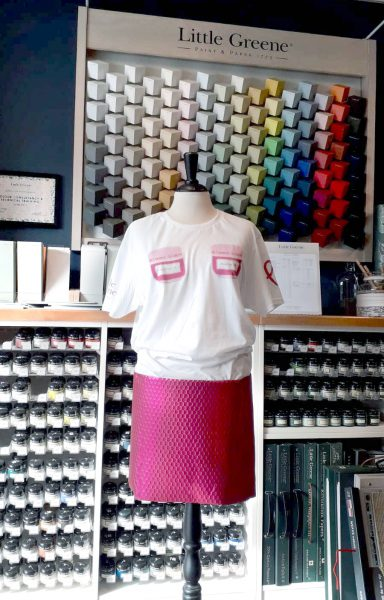 Pink Ribbon actie Little Greene