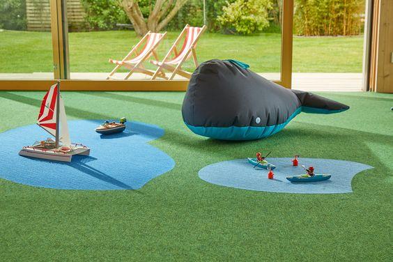 tretford tapijt voor de kinderkamer